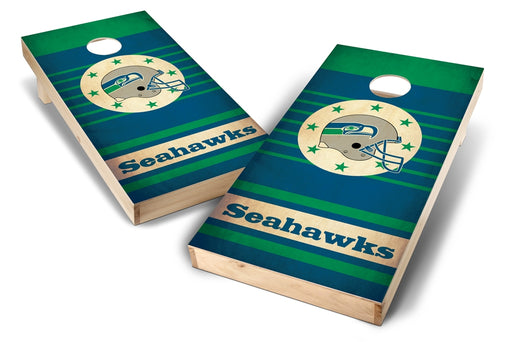Seattle Seahawks 2x4 Cornhole Board Set - Nostalgia