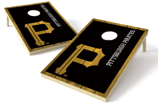 Pittsburgh Pirates 2x3 Cornhole Board Set - Vintage
