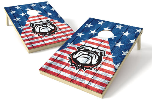Georgia Bulldogs 2x3 Cornhole Board Set - American Flag