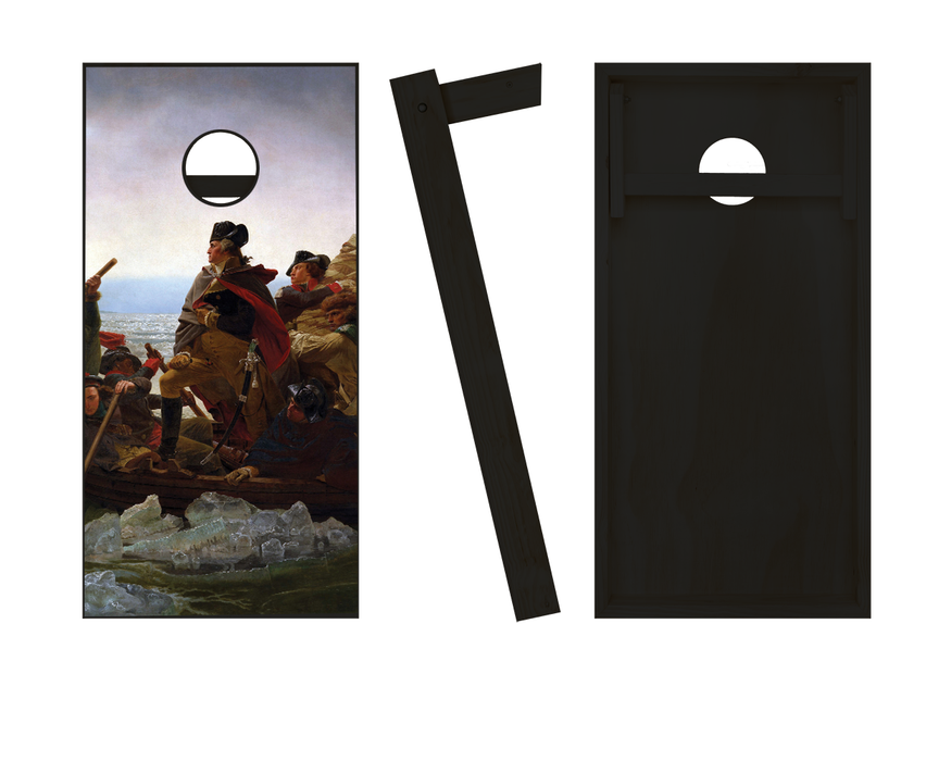 Crossing the Delaware Cornhole Set