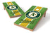 Oakland Athletics 2x4 Cornhole Board Set - Field