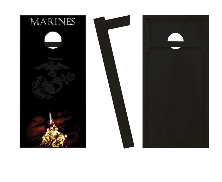 US Marines Cornhole Set