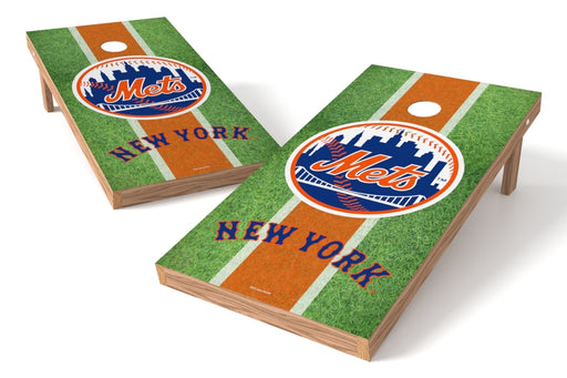 New York Mets 2x4 Cornhole Board Set - Field