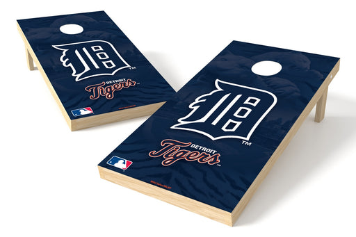 Detroit Tigers 2x4 Cornhole Board Set - Logo