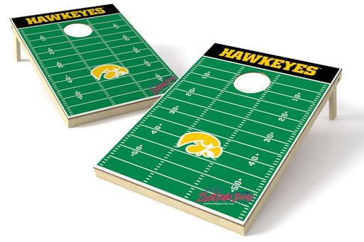 Iowa Hawkeyes 2x3 Cornhole Board Set - Field