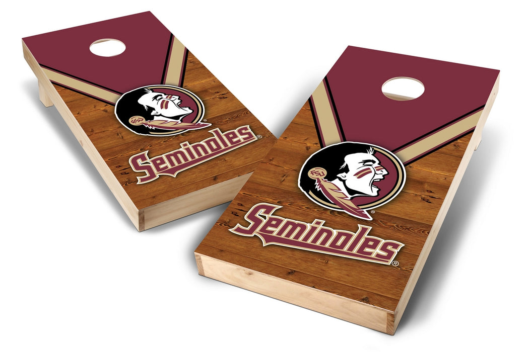 Florida State Seminoles 2x4 Cornhole Board Set - Uniform