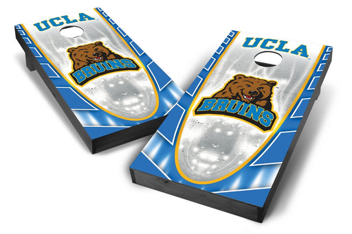 UCLA Bruins 2x4 Cornhole Board Set Onyx Stained - Hot