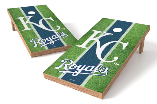 Kansas City Royals 2x4 Cornhole Board Set - Field