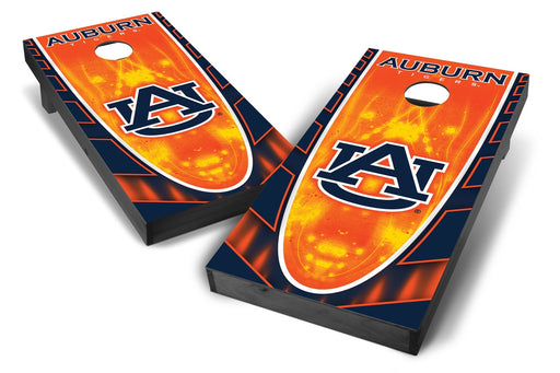 Auburn Tigers 2x4 Cornhole Board Set Onyx Stained - Hot