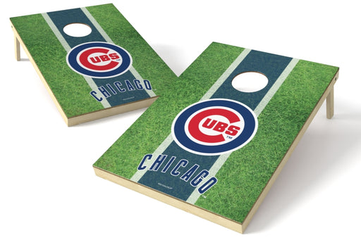Chicago Cubs 2x3 Cornhole Board Set - Field