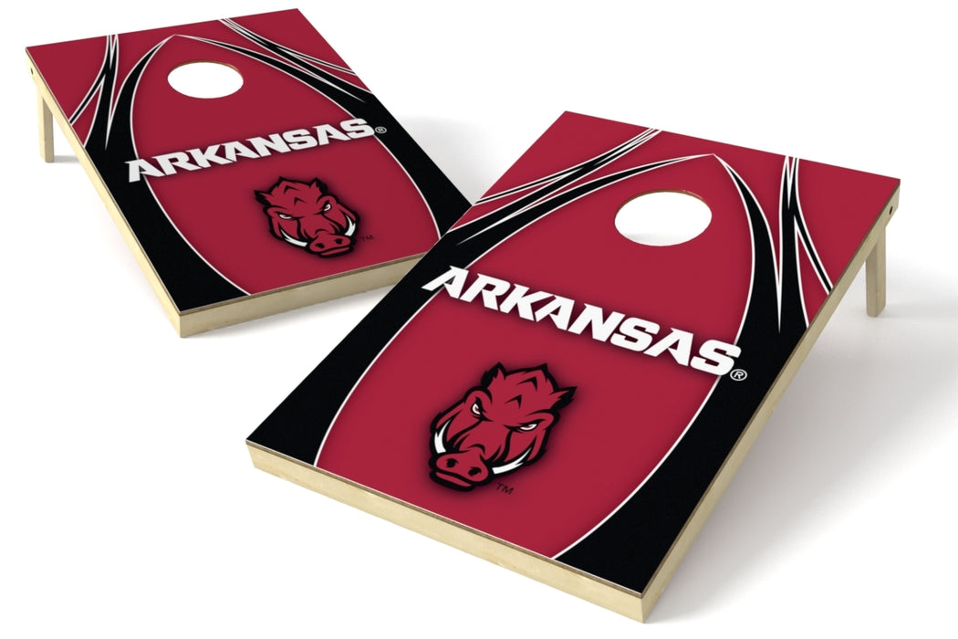 Arkansas Razorbacks 2x3 Cornhole Board Set