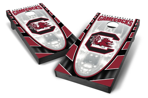 South Carolina Gamecocks 2x4 Cornhole Board Set Onyx Stained - Hot