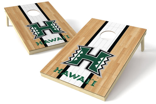Hawaii 2x3 Cornhole Board Set - Hardwood