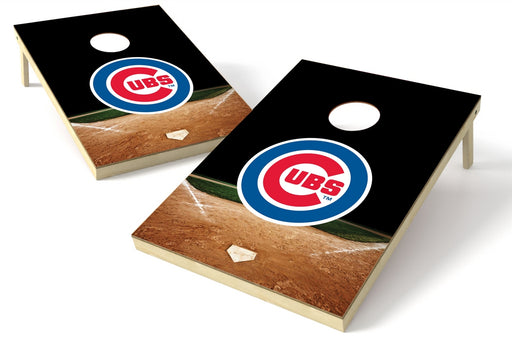 Chicago Cubs 2x3 Cornhole Board Set - Home Plate