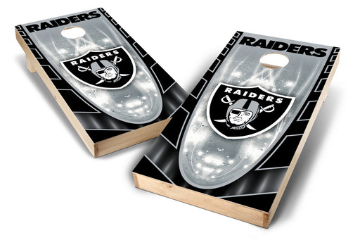 Oakland Raiders 2x4 Cornhole Board Set - Hot