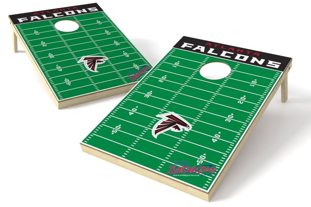 Atlanta Falcons 2x3 Cornhole Board Set - Field