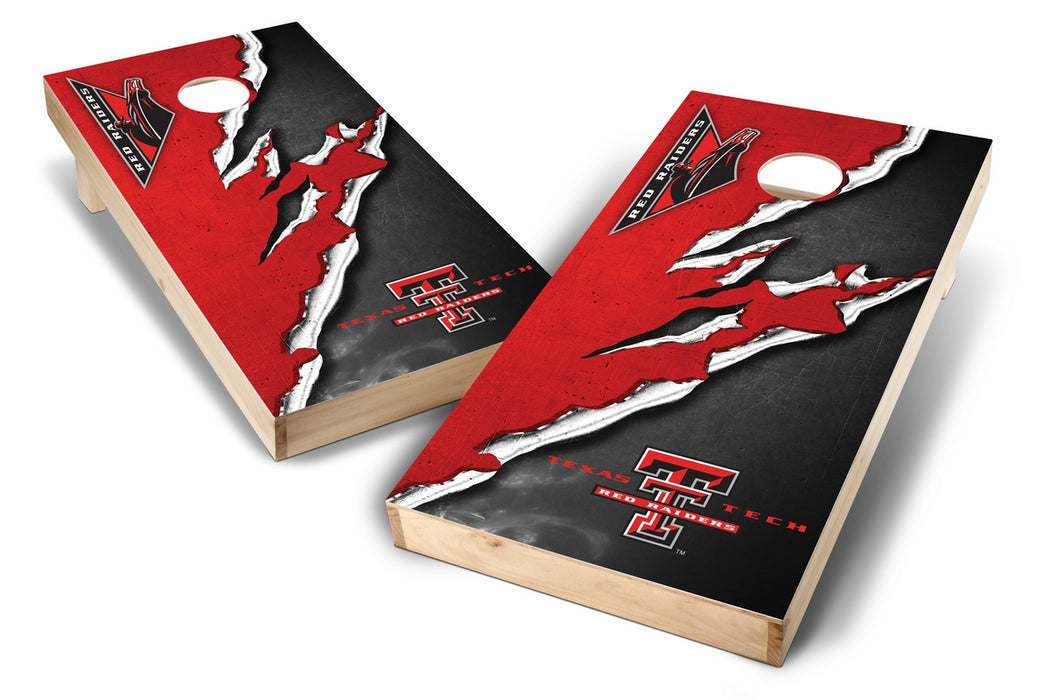Texas Tech Red Raiders 2x4 Cornhole Board Set - Ripped