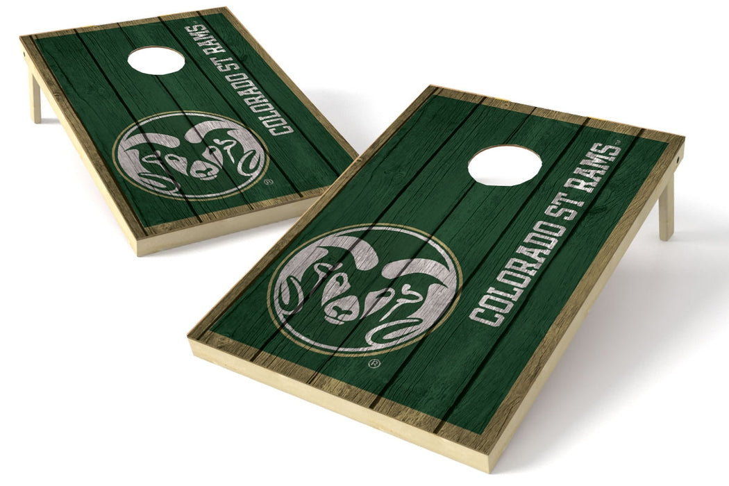 Colorado State Rams 2x3 Cornhole Board Set - Vintage