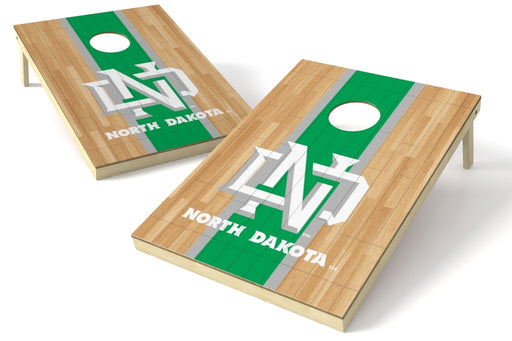 North Dakota 2x3 Cornhole Board Set - Hardwood