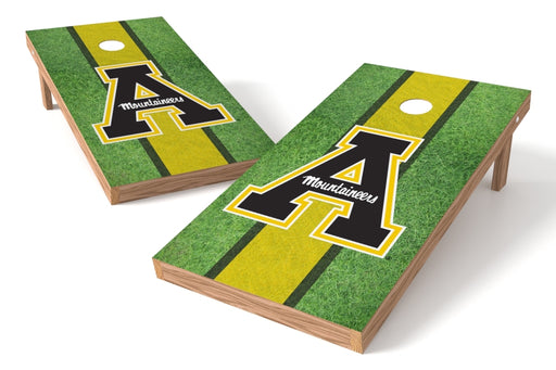 Appalachian State U 2x4 Cornhole Board Set - Field