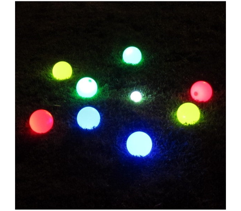 Lighted Bocce Ball Set