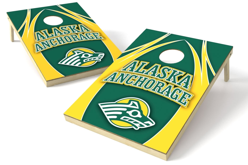 Alaska Anchorage 2x3 Cornhole Board Set