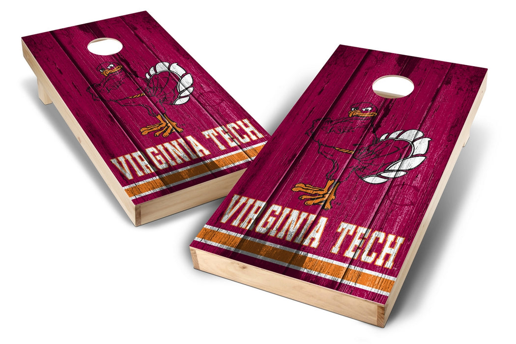 Virginia Tech Hokies 2x4 Cornhole Board Set - Vintage