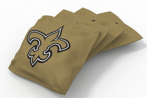 New Orleans Saints Solid Bean Bags - 4pk