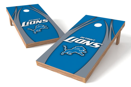 Detroit Lions 2x4 Cornhole Board Set - Edge