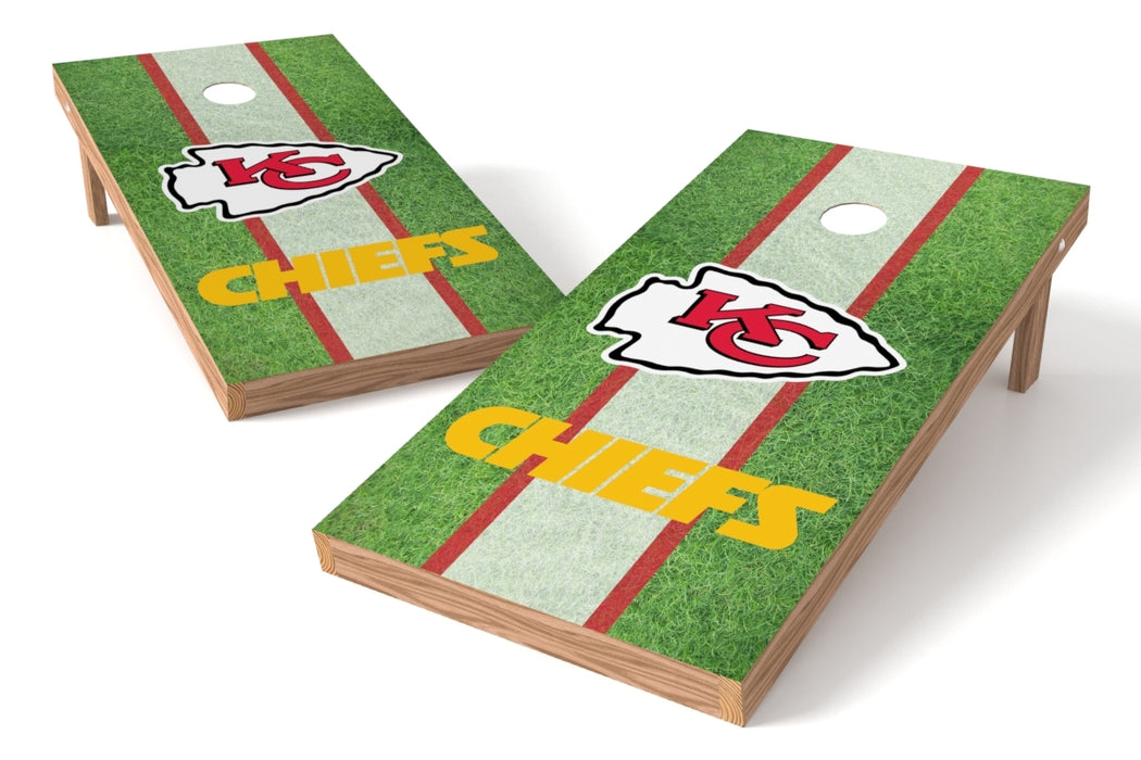 Kansas City Chiefs 2x4 Cornhole Board Set - Field