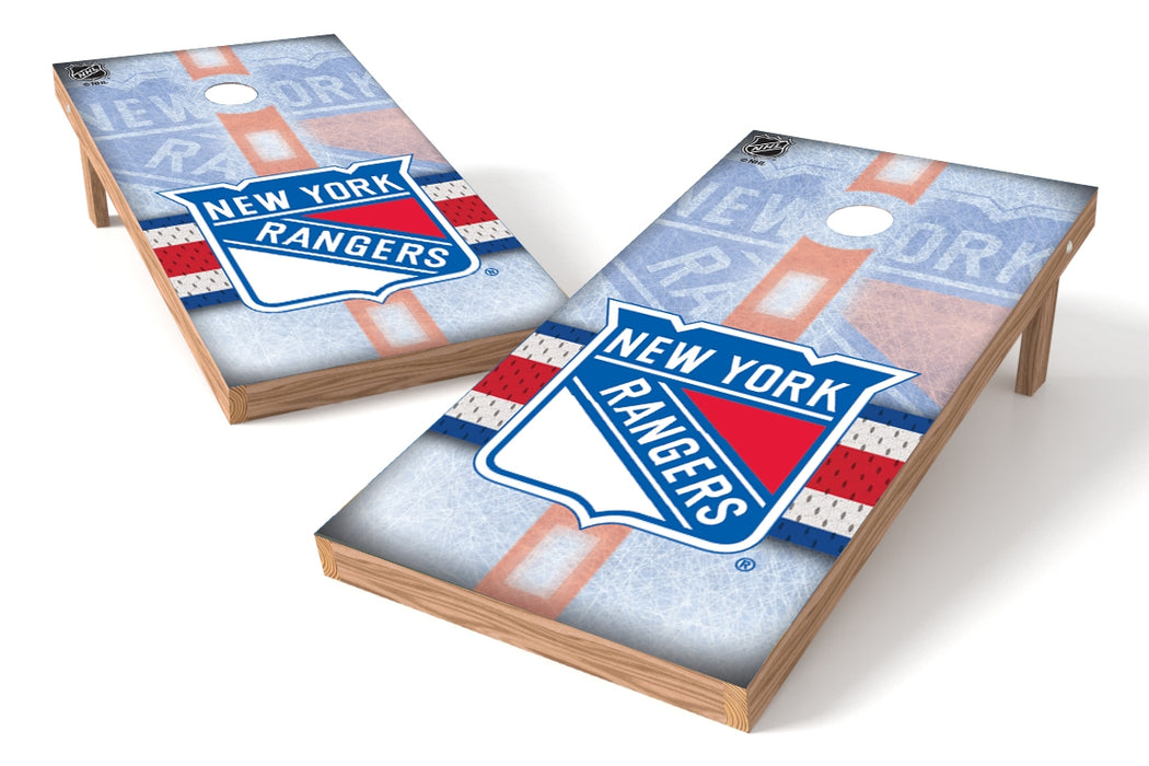New York Rangers 2x4 Cornhole Board Set - Rink