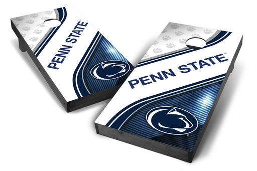 Penn State Nittany Lions 2x4 Cornhole Board Set Onyx Stained - Swirl