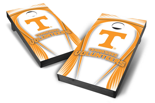 Tennessee Volunteers 2x4 Cornhole Board Set Onyx Stained - Drop