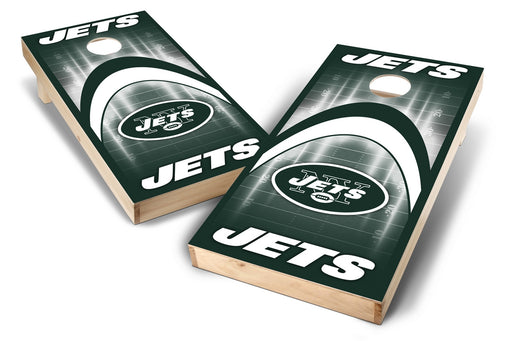 New York Jets 2x4 Cornhole Board Set - Arch