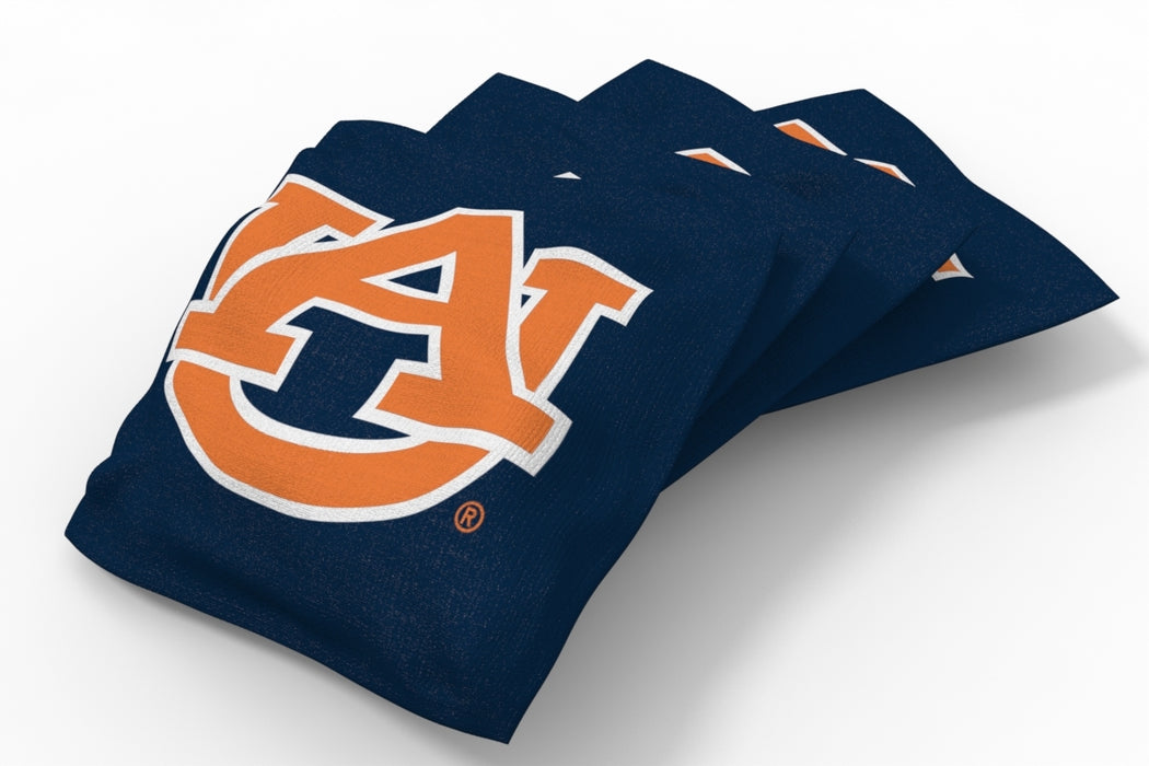 Auburn Tigers 2x4 Cornhole Board Set Onyx Stained - Vertical