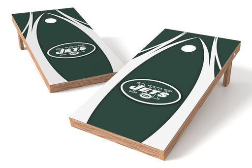 New York Jets 2x4 Cornhole Board Set - Edge