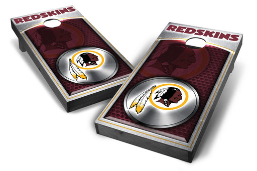 Washington Redskins 2x4 Cornhole Board Set Onyx Stained - Medallion