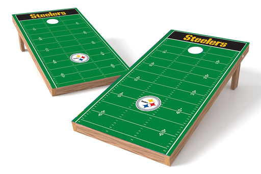 Pittsburgh Steelers 2x4 Cornhole Board Set - Field