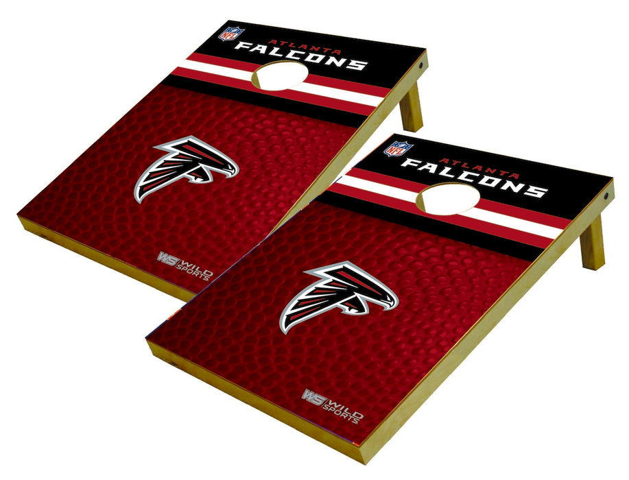 Atlanta Falcons 2x3 Cornhole Board Set - Pigskin