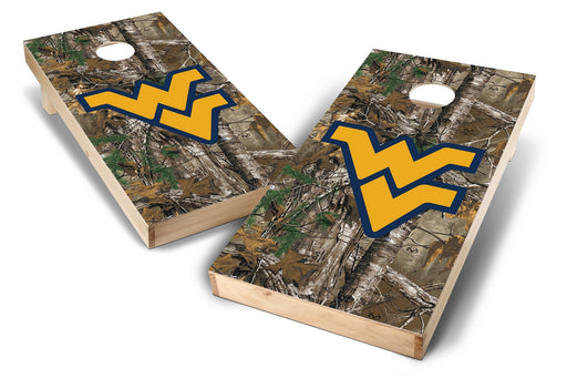 WVU Mountaineers 2x4 Cornhole Board Set - Xtra Camo