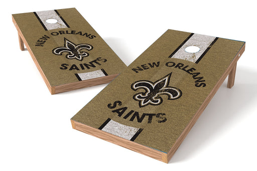 New Orleans Saints 2x4 Cornhole Board Set - Heritage