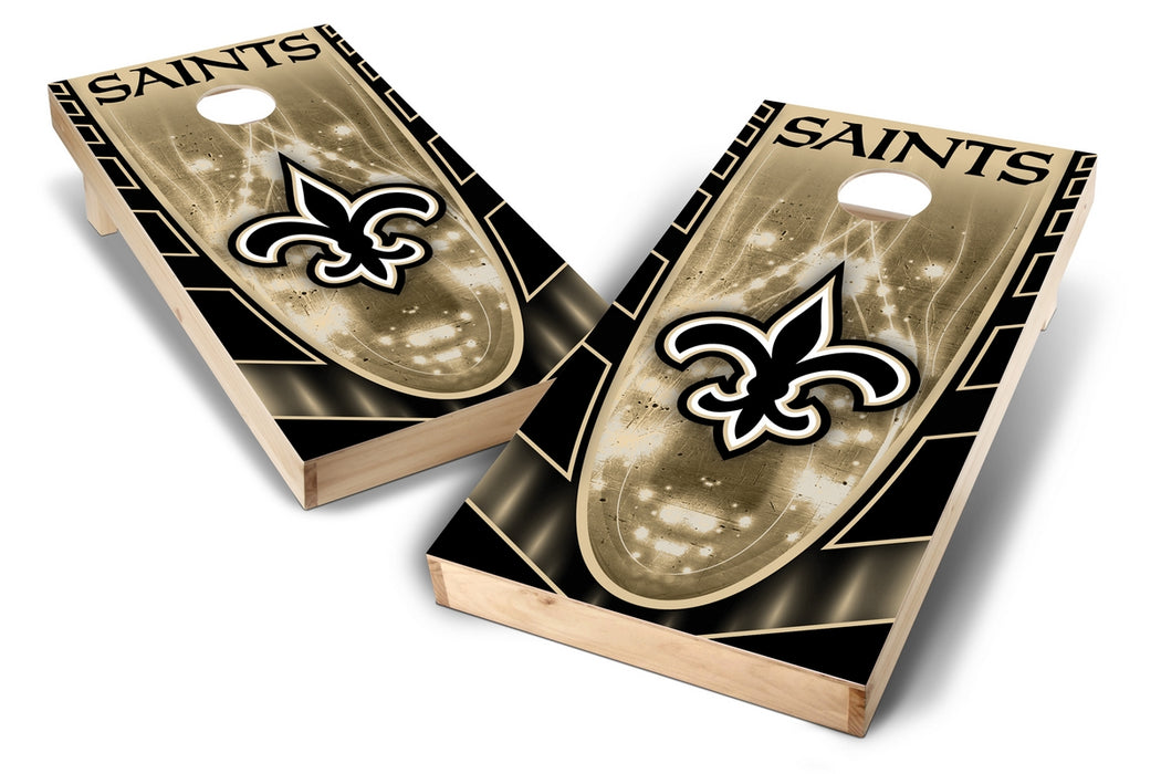 New Orleans Saints 2x4 Cornhole Board Set - Hot