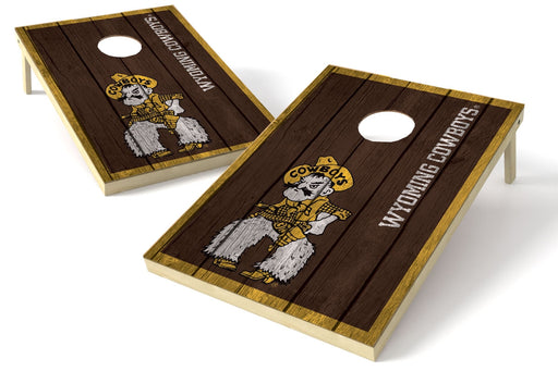 Wyoming 2x3 Cornhole Board Set - Vintage