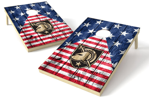 Army Black Knights 2x3 Cornhole Board Set - American Flag