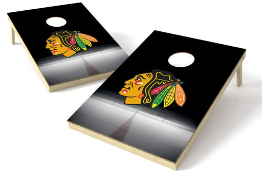 Chicago Blackhawks 2x3 Cornhole Board Set - Mid Rink