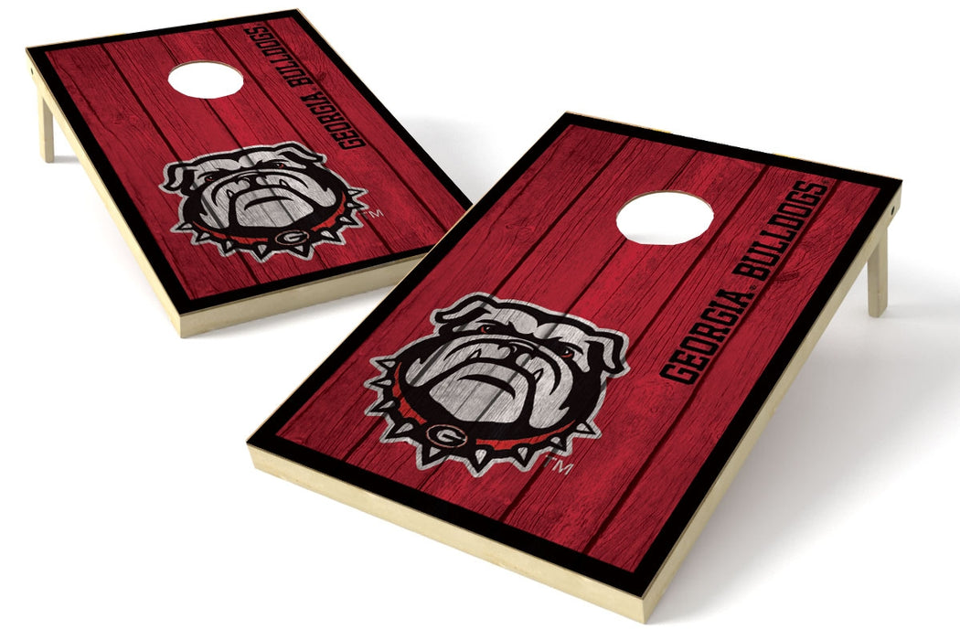 Georgia Bulldogs 2x3 Cornhole Board Set - Vintage