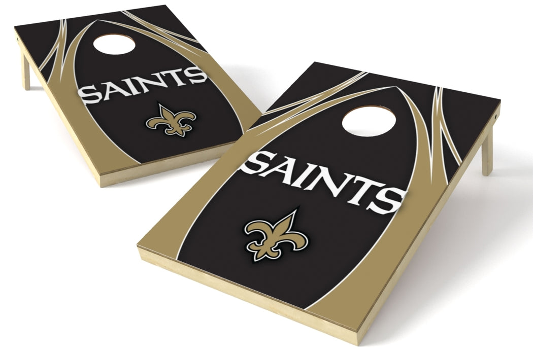 New Orleans Saints 2x3 Cornhole Board Set