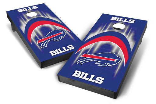 Buffalo Bills 2x4 Cornhole Board Set Onyx Stained - Arch