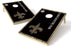 New Orleans Saints 2x3 Cornhole Board Set - Vintage