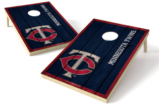 Minnesota Twins 2x3 Cornhole Board Set - Vintage